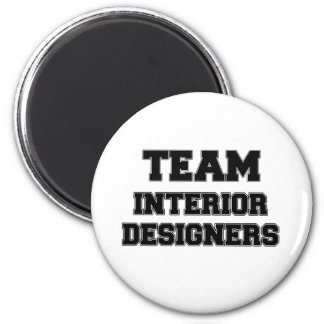 Team Interior Designers Refrigerator Magnet