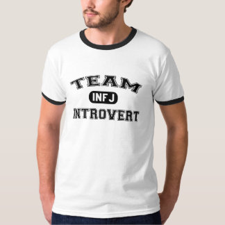 Team Introvert: INFJ Counselor T-shirts