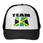 Team Ja Jamaican Flag Mesh Hats