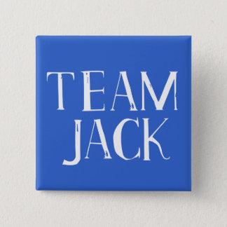Team Jack 15 Cm Square Badge