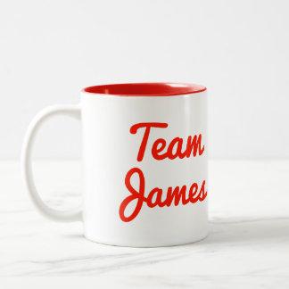 Team James Mug