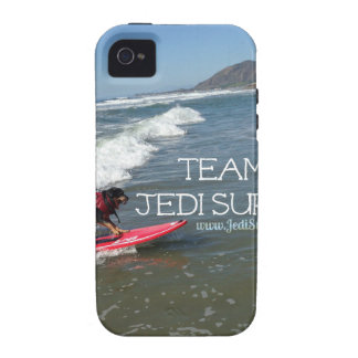 Team Jedi Surfs Line iPhone 4 Covers