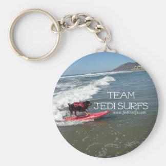 Team Jedi Surfs Line Keychain