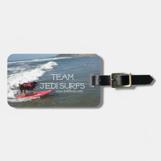 Team Jedi Surfs Line Luggage Tag