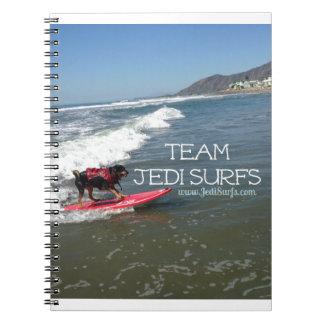 Team Jedi Surfs Line Notebook