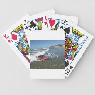 Team Jedi Surfs Line Poker Deck
