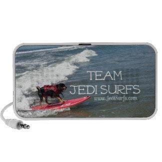 Team Jedi Surfs Line Speaker System