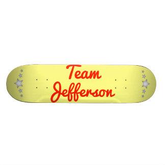 Team Jefferson Skateboard