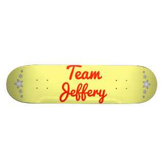Team Jeffery Skate Board