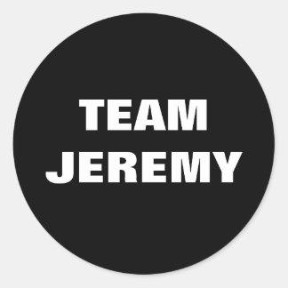 Team Jeremy Stickers