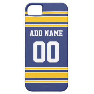 Team Jersey with Custom Name and Number iPhone 5 Case