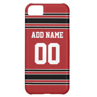 Team Jersey with Custom Name and Number iPhone 5C Case
