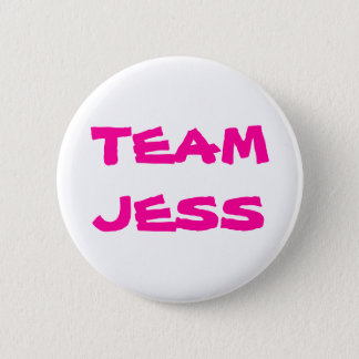 Team Jess 6 Cm Round Badge