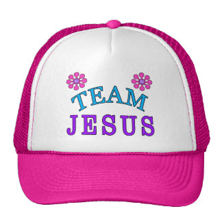 Team Jesus Christian Flat Bill Hats