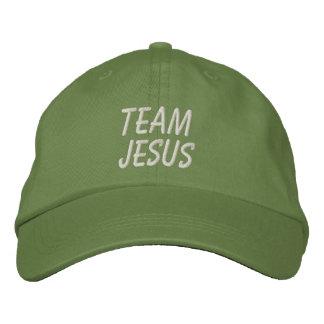 Team Jesus Hat Embroidered Cap