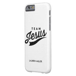 Team jesus iPhone case