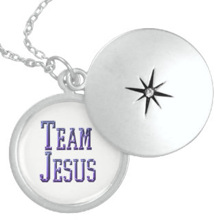 Team Jesus Sterling Silver Necklace