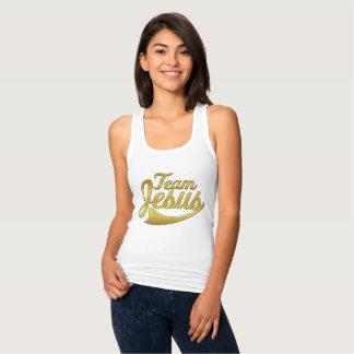 Team Jesus Women's Slim Racerback Shirt