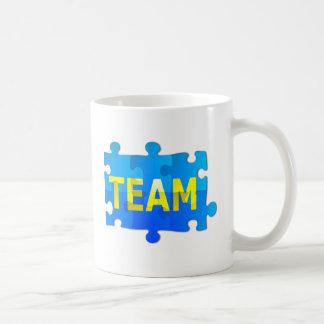Team Jigsaw Puzzle Coffee Mug