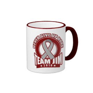 Team Jim Brain Cancer Walk 2010 Coffee Mug