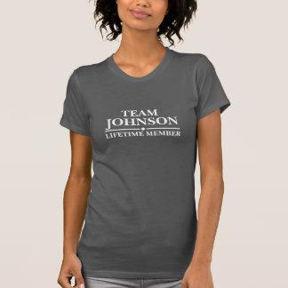 Team Johnson Lifetime Member Tshirts