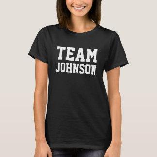 TEAM Johnson Personalise it T-Shirt