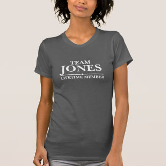 Team Jones Lifetime Member Shirts