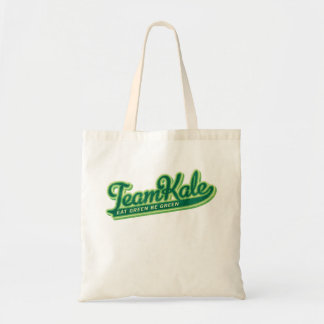 Team Kale Eat Green Be Green Tote Bag