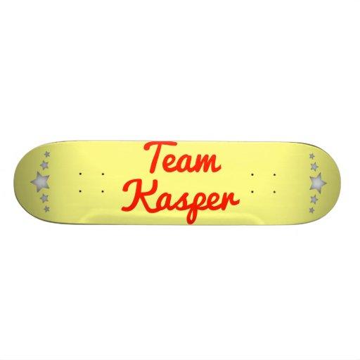 Team Kasper Skate Deck