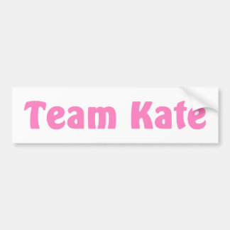 Team Kate Bumper Sticker