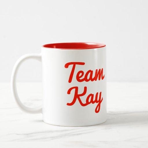 Team Kay Mugs