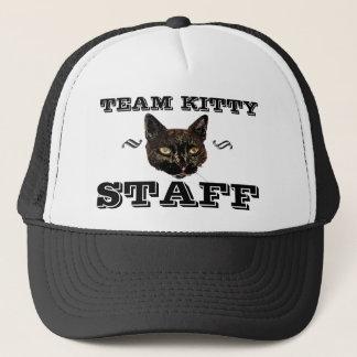 Team Kitty STAFF Trucker Hat