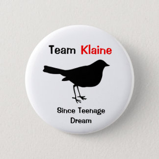 Team Klaine 6 Cm Round Badge