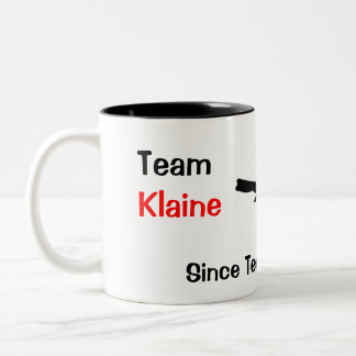 Team Klaine Two-Tone Coffee Mug