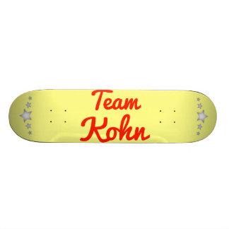 Team Kohn Skateboard Deck