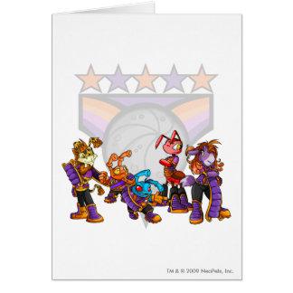 Team Kreludor Group Greeting Card