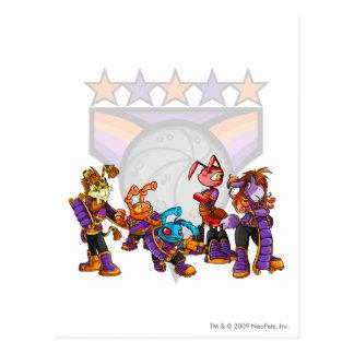 Team Kreludor Group Postcard