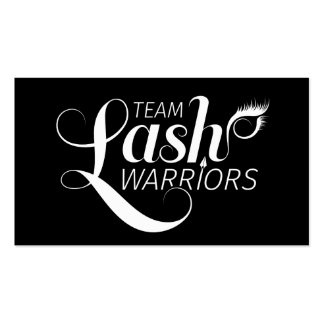 Team Lash Warriors Cards Pack Of Standard Business Cards