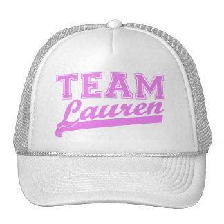 Team Lauren pnk Hat