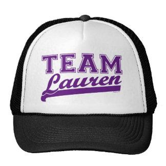 Team Lauren Pur Hat