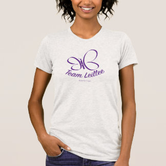 Team Leillee shirt Ash Grey Womens