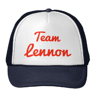 Team Lennon Cap