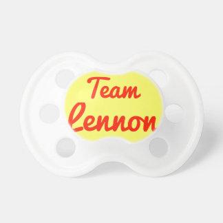 Team Lennon Baby Pacifier