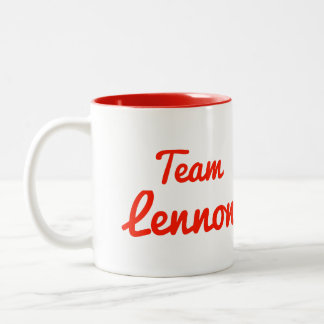 Team Lennon Coffee Mug