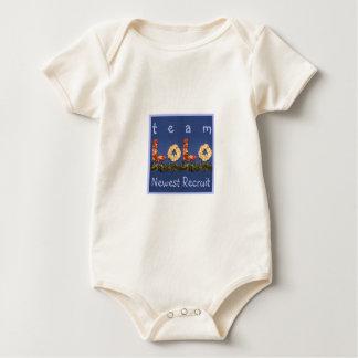 Team Lolo Newest Recruit Baby Bodysuit