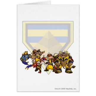 Team Lost Desert Group Greeting Card