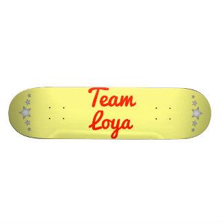 Team Loya Custom Skate Board