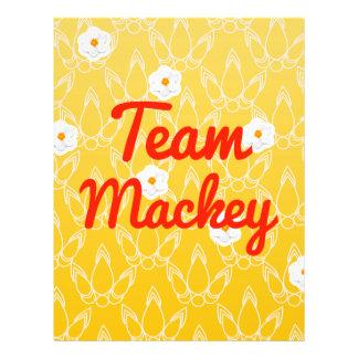 Team Mackey Full Color Flyer