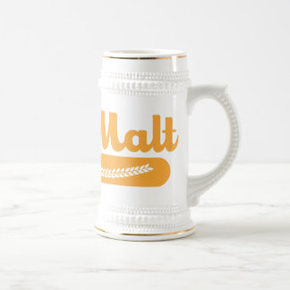 Team Malt Beer Stein Beer Steins