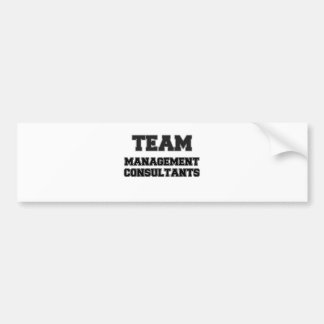 Team Management Consultants Bumper Stickers